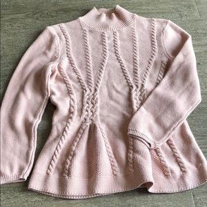 Pink knitted Cupio sweater